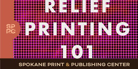 Relief Printmaking 101 (6 sessions- Mondays & Wednesdays 10/7 to 10/23 6-8:30pm) tickets