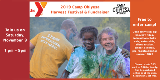 2019 Camp Ohiyesa Harvest Festival and Fundraiser