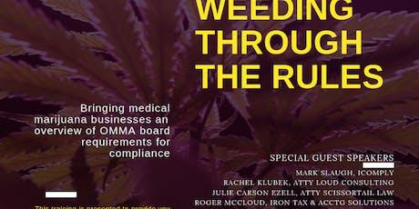 OKLAHOMA CANNABIS COMPLIANCE:   WEEDING THROUGH THE RULES tickets