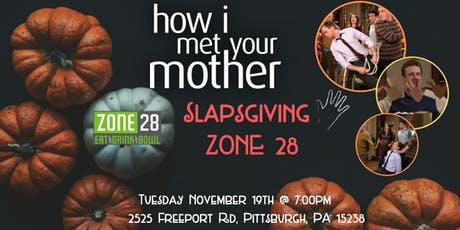 How I Met Your Mother Slapsgiving Trivia at Zone 28 tickets
