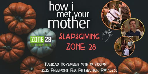 How I Met Your Mother Slapsgiving Trivia at Zone 28