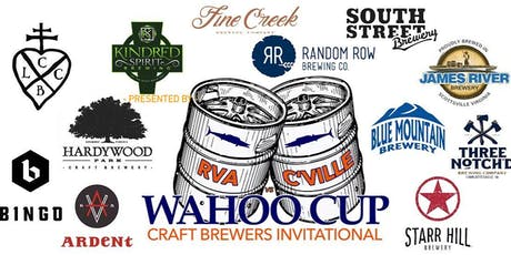 2019 Wahoo Cup Craft Brewers Invitational  tickets