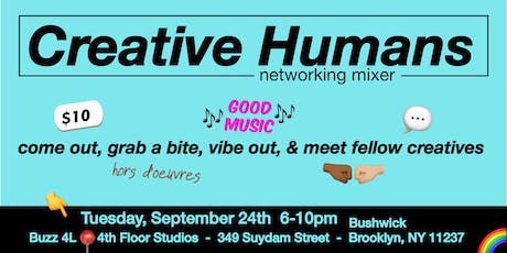 Creative Humans Networking Mixer tickets