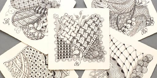 Oct. 18: Zentangle Class for Beginners with Maureen Vickery