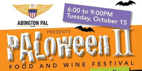 PAL Food and Wine Festival - PALoween II tickets