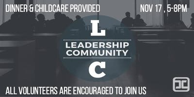 November 2019 Leadership Community Gathering