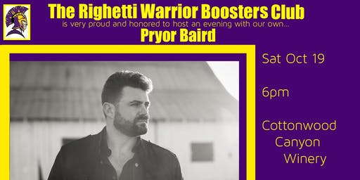 Righetti Warrior Boosters Club Pryor Baird Event