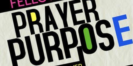 Prayer Purpose tickets