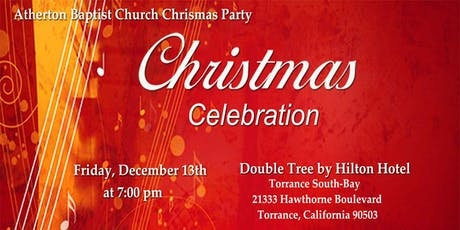 Atherton Baptist Church Christmas Party tickets