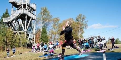 Power-Yoga au sommet avec Valérie Boudreault billets
