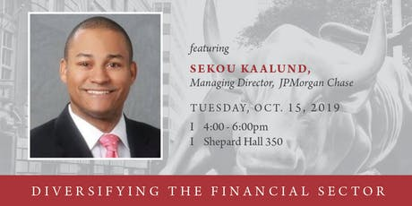 Conversation in Leadership - Diversifying the Financial Sector tickets
