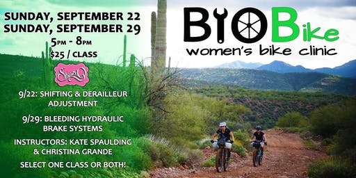 BYOBike Women's Bike Maintenance Class