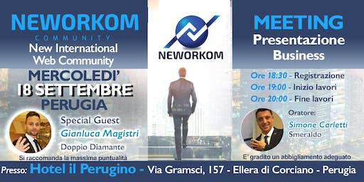 NEWORKOM - Presentazione Business Meeting - PERUGIA