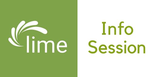Lime Connect Information Sessions