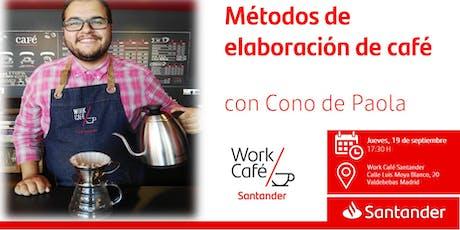 Métodos de elaboración de café   con Cono de Paola entradas