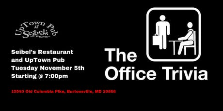 The Office Trivia at Seibel's Uptown Pub tickets