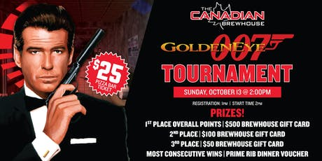 Goldeneye 007 Tournament tickets