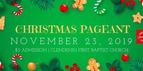 2019 Clendenin Christmas Pageant Craft Show tickets