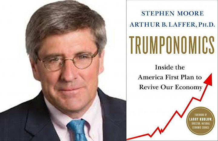 Road to 2020 Speaker Series - VIP Lunch with Stephen Moore image