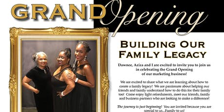 Building Our Family Legacy tickets