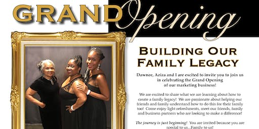 Building Our Family Legacy