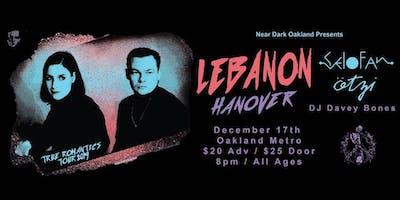 Near Dark Presents: Lebanon Hanover, Selofan & Ötzi