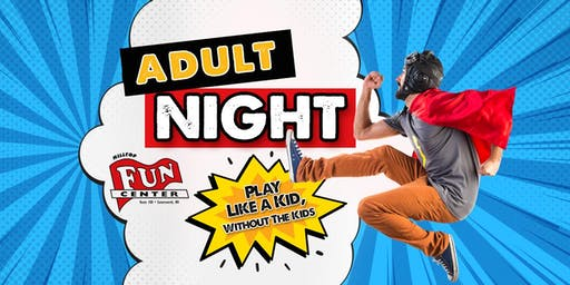 Fall Adult Night at Hilltop Fun Center