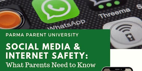 Social Media and Internet Safety:  What Parents Need to Know tickets