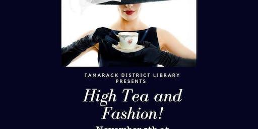 High Tea and Fashion!