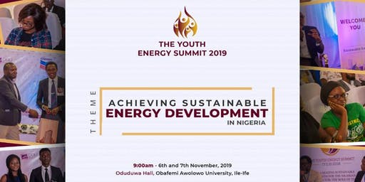 THE YOUTH ENERGY SUMMIT (Y.E.S.) 2019