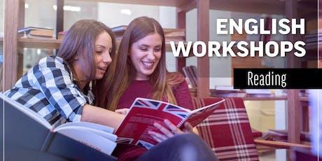 Workshop Reading September16th-September 21st entradas