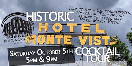 Historic Hotel Monte Vista Cocktail Tour tickets
