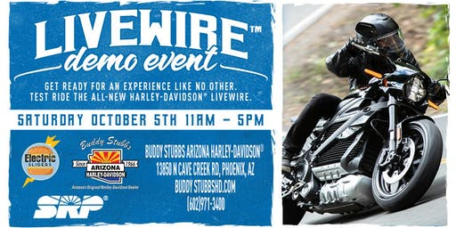 Harley-Davidson® Livewire™ Electric Motorcycle Demo Rides