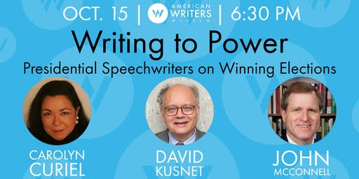 Writing to Power: Presidential Speechwriters on Winning Elections