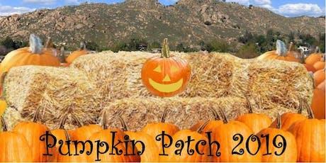 Pumpkin Patch 2019 tickets