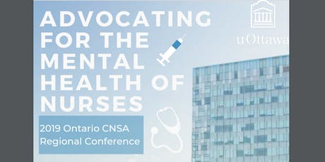 2019  CNSA Ontario Regional Conference tickets