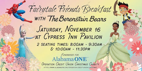 Fairytale Friends Breakfast with The Berenstain Bears tickets