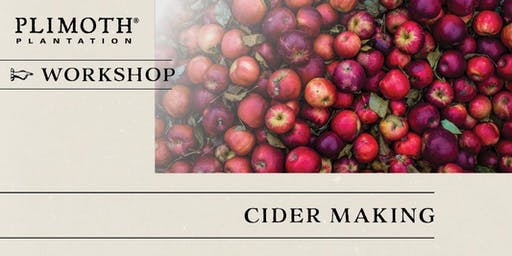 Plimoth Workshops: Cider Making