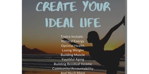 CREATE YOUR IDEAL LIFE NOW!