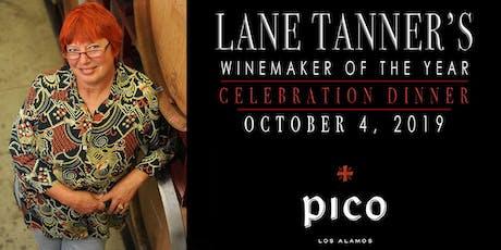 Lane Tanner Celebration Dinner tickets