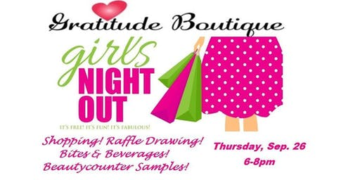 Girls Night Out Sip & Shop Event!