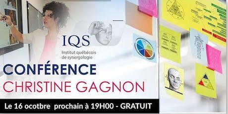 Découvrez la Synergologie - Une conférence par Christine Gagnon tickets