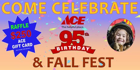Ace's 95th Birthday and Fall Fest tickets