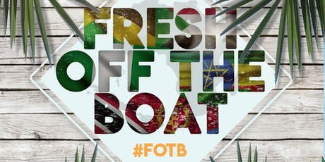 Afro Caribbean Friday 18+: Fresh Off The Boat @DCAfroCaribbean tickets