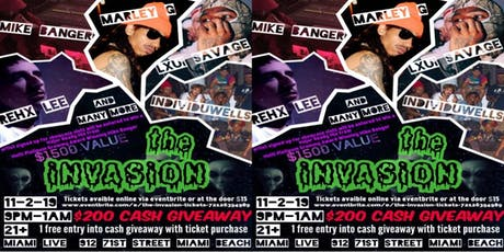 the iNVASiON tickets