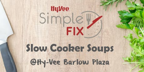 Simple Fix Meal Prep TO GO: Slow Cooker Soups tickets