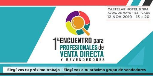 1er Encuentro para Profesionales de Venta Directa y Revendedores