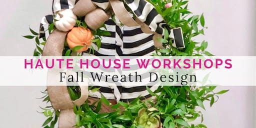 Fall Grapevine Wreath Workshop