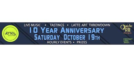 Jersey Java & Tea 10 Year Anniversary Celebration tickets