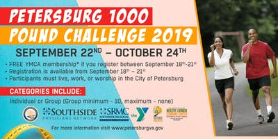 The City of Petersburg 2019 1000LB Challenge